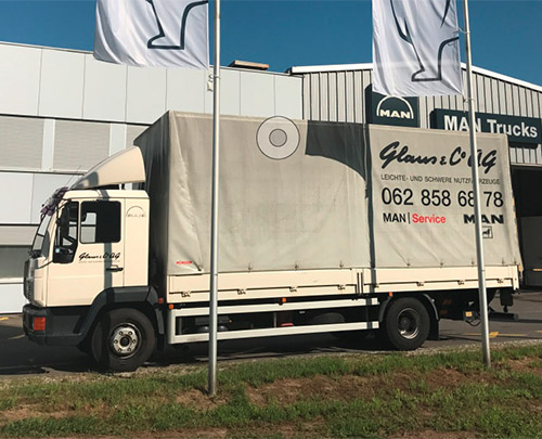 Glaus & Co. AG Mietwagen MAN 12.224