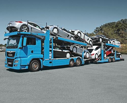 MAN Autotransporter