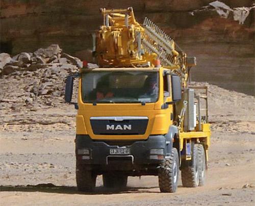 MAN Bergbau Fahrzeuge