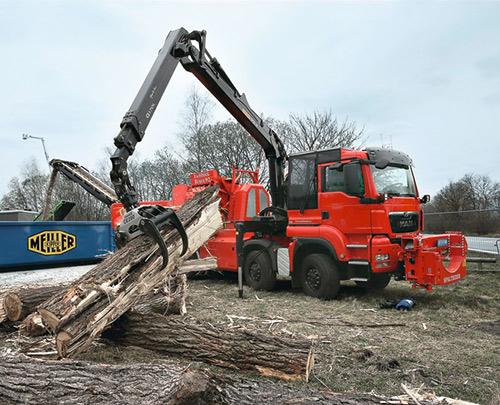 MAN Fahrzeuge für die Forst- und Landwirtschaft