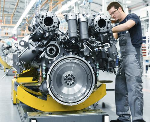 Dienstleistungen rund um Motoren