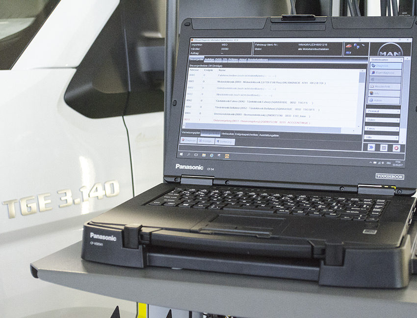 Offboard Diagnostic Information System
