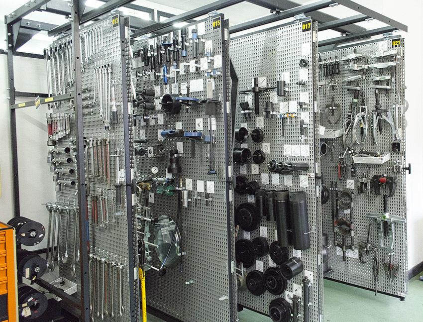 Spezialwerkzeuge für die Marken MAN, IVECO und Boschung