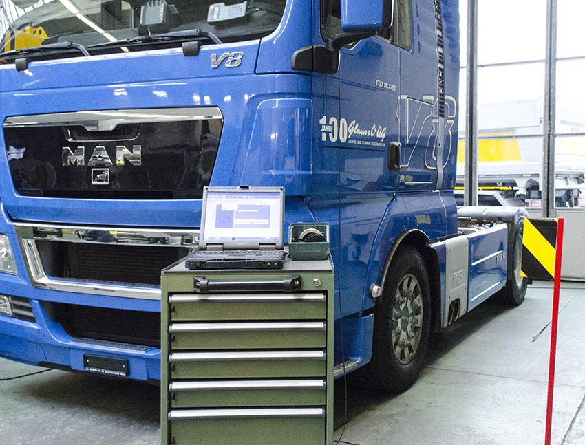 Diagnosesystem MAN-cats III für MAN-Trucks