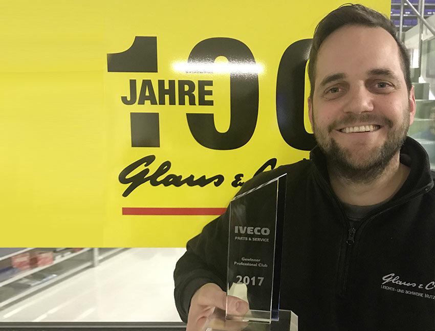 IVECO Professional Club Award 2017